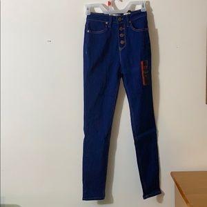 High Rise Sretchy Skinny Jeans